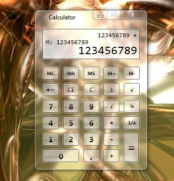 Гаджет калькулятор для windows xp